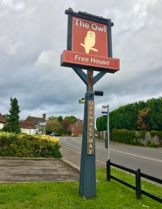 The Owl pub - great local watering hole for hikers, bird watchers and travellers