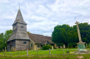 Newdigate Church - opposite the village pub; both very pretty and well maintained.