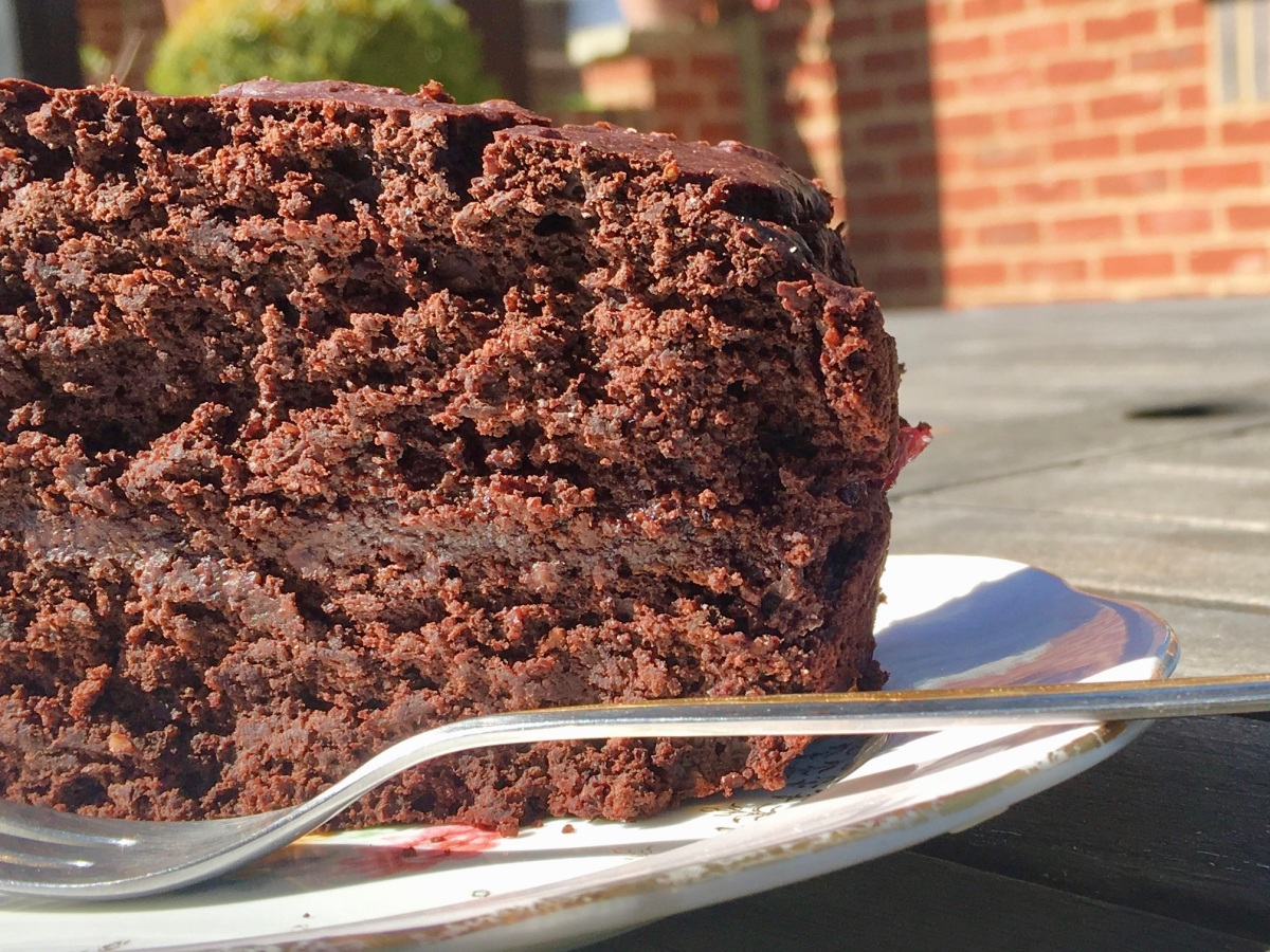 Wheat, Dairy free vegan chocolate cake